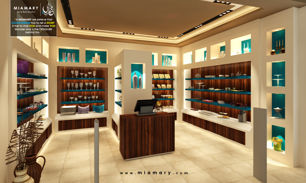 interior design for Must home accessories store at Mirage Mall By Miamary